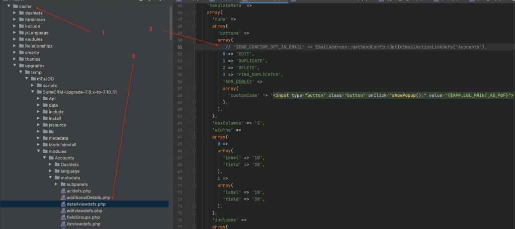 Fix blank page error when upgrade SuiteCRM